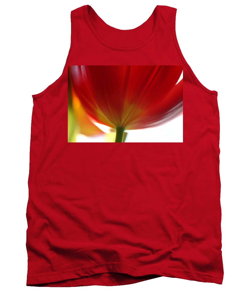 Tulip Tank Top featuring the photograph New Day by Amanda Barcon