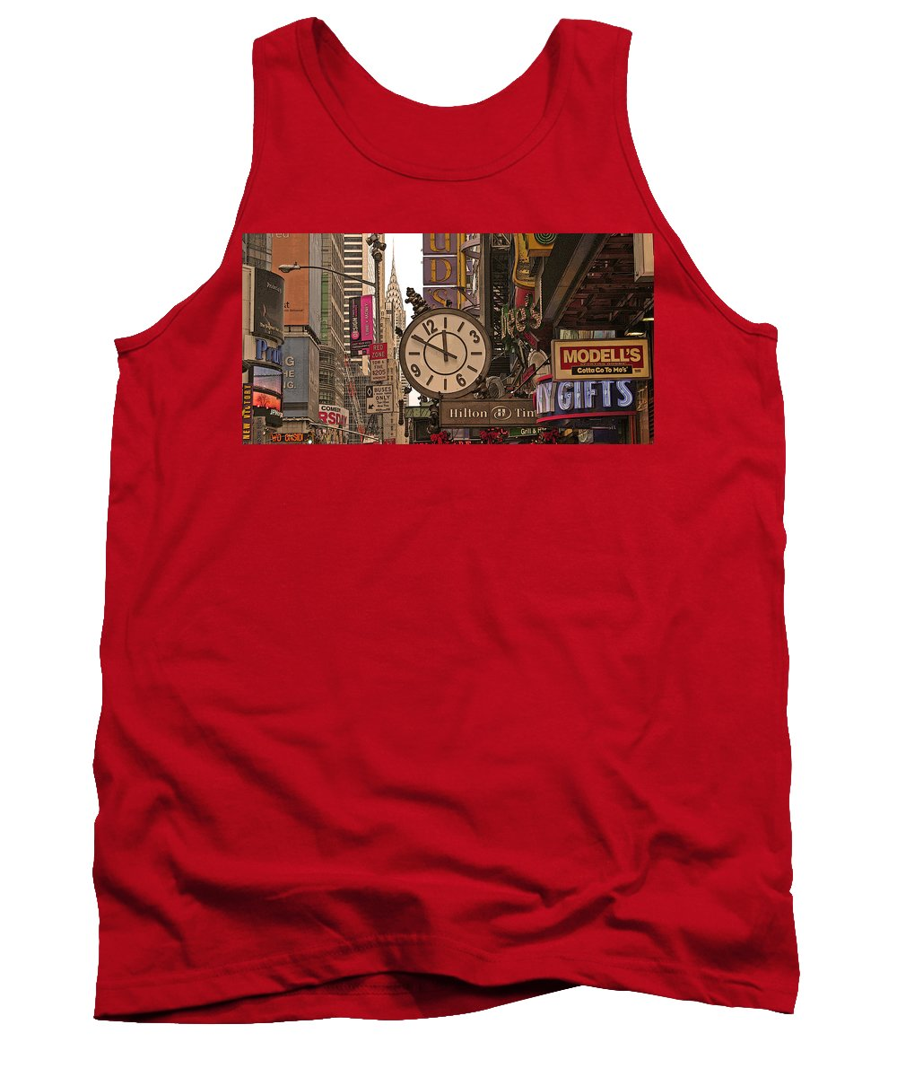 Tank Top featuring the photograph New York State Of Mind by Vladimir Damjanovic