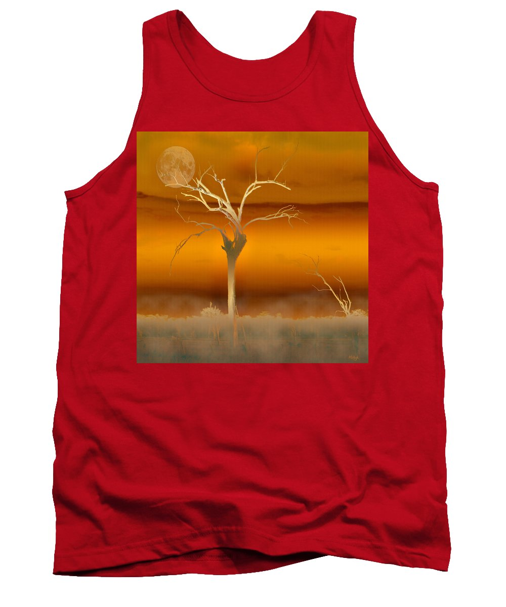 Landscapes Tank Top featuring the photograph Night Shades by Holly Kempe