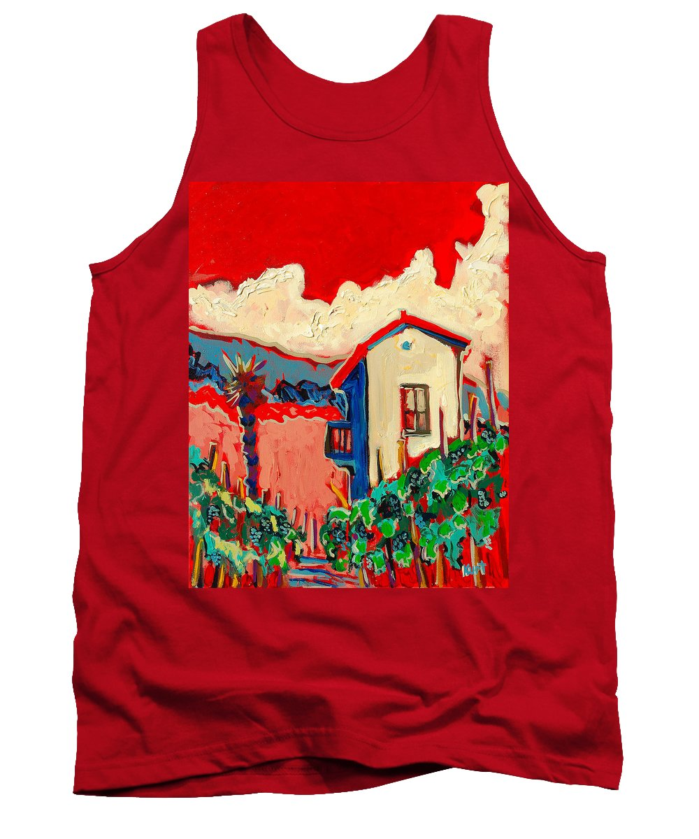 Tuscany Tank Top featuring the painting Notare by Kurt Hausmann