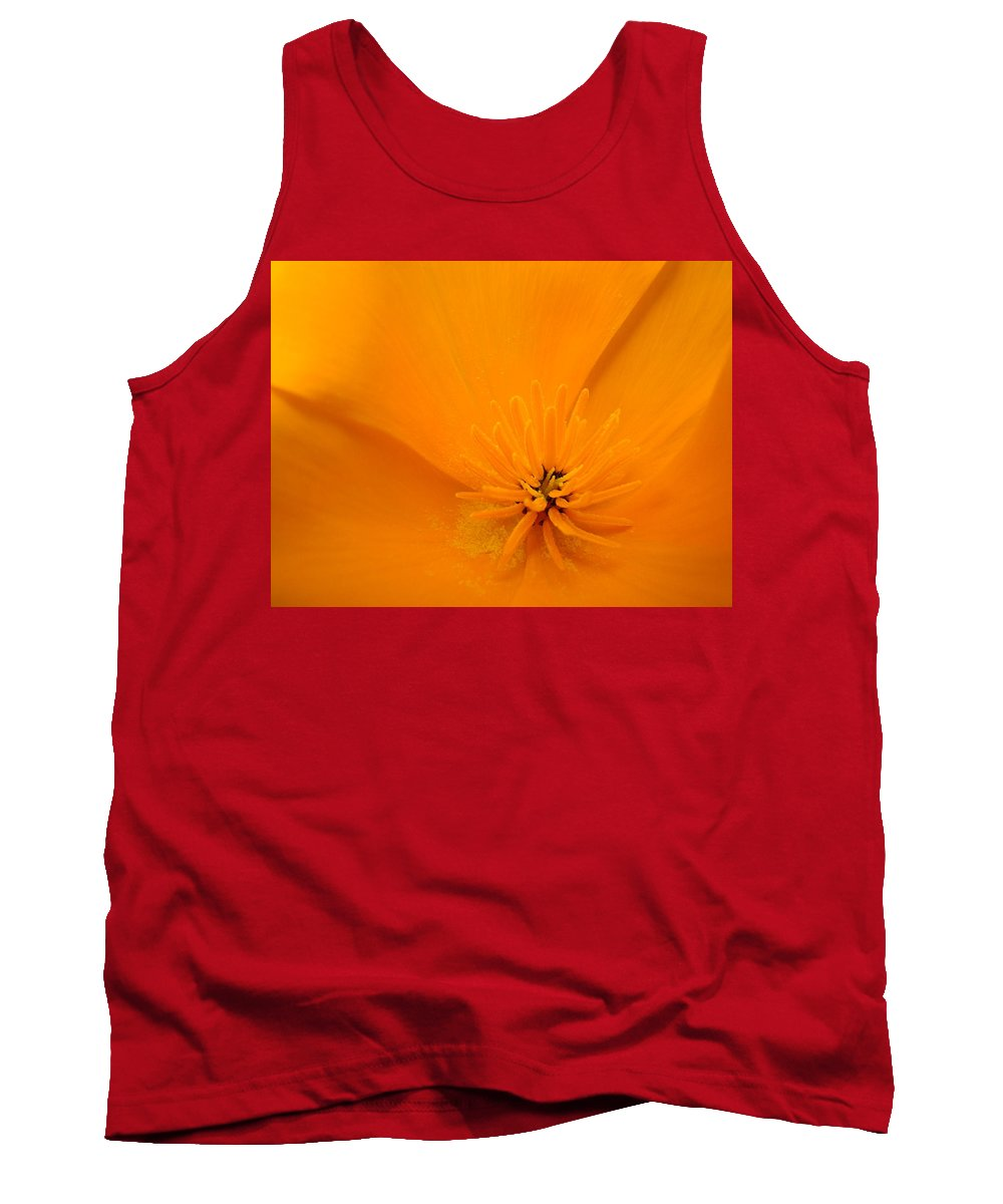 �poppies Art� Tank Top featuring the photograph Office Art Poppies Orange Poppy Flowers Giclee Prints Baslee Troutman by Baslee Troutman