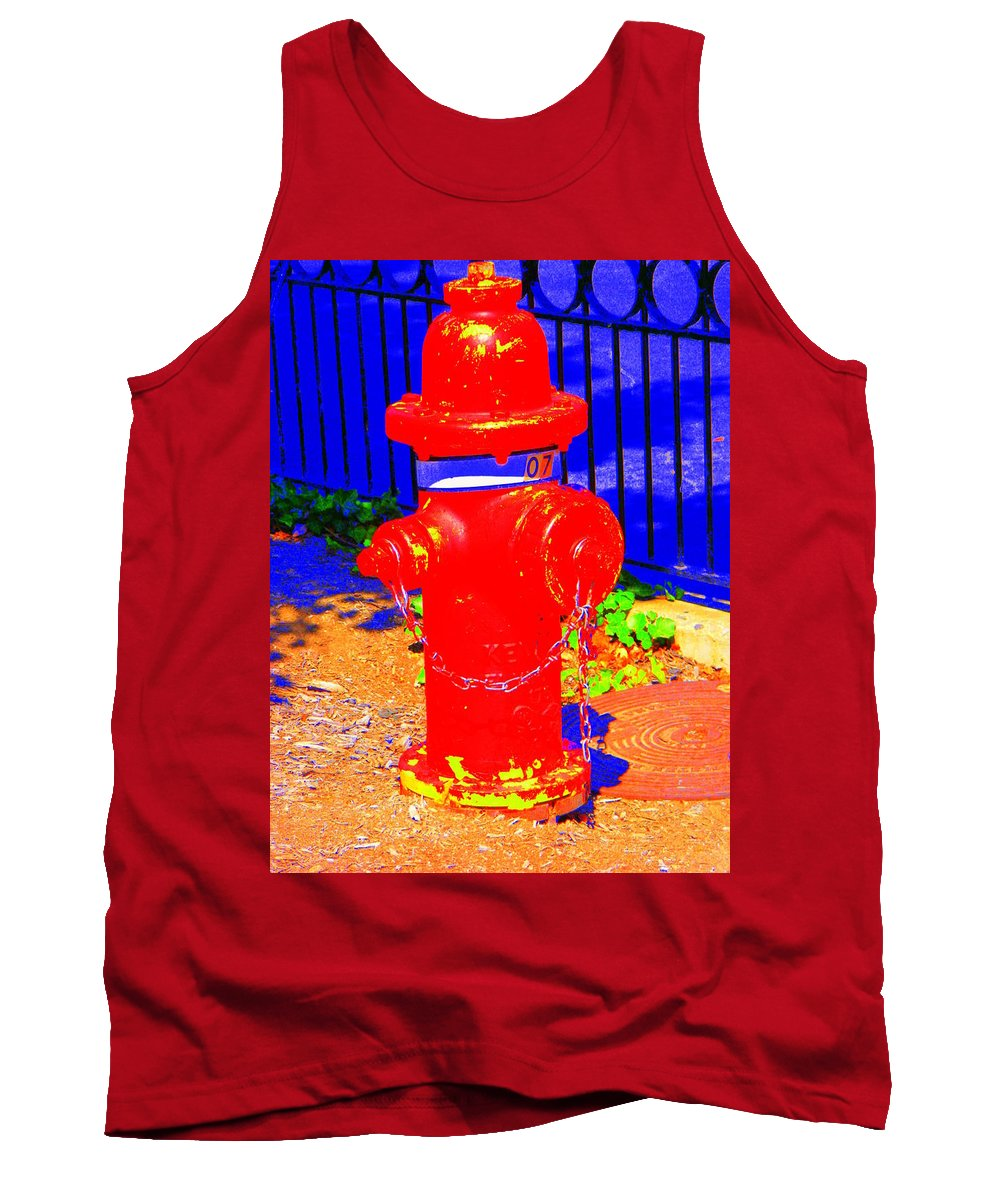 Old Tank Top featuring the photograph Old No.7 by Ed Smith
