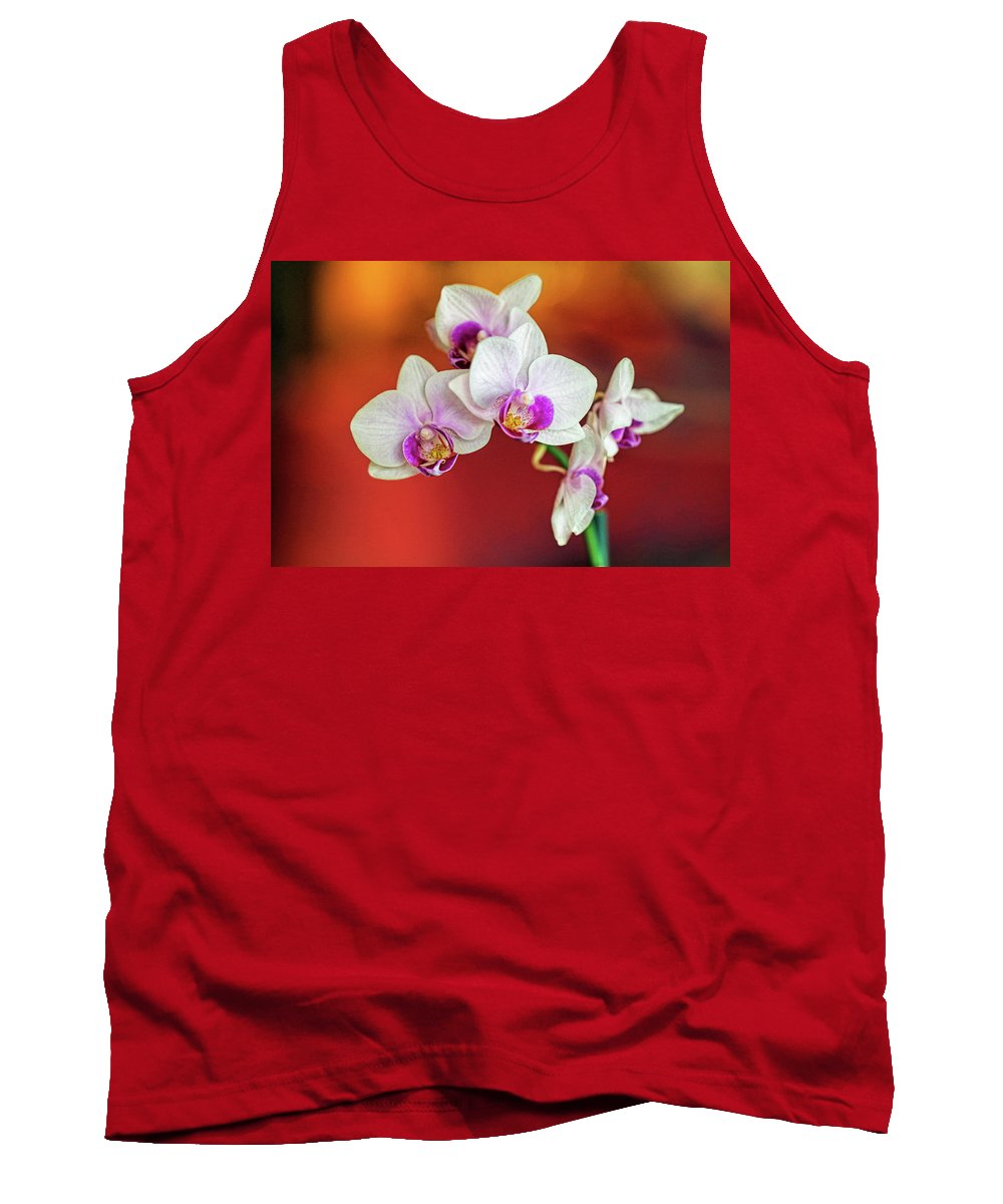 Orchid Tank Top featuring the photograph Orchid by A H Kuusela