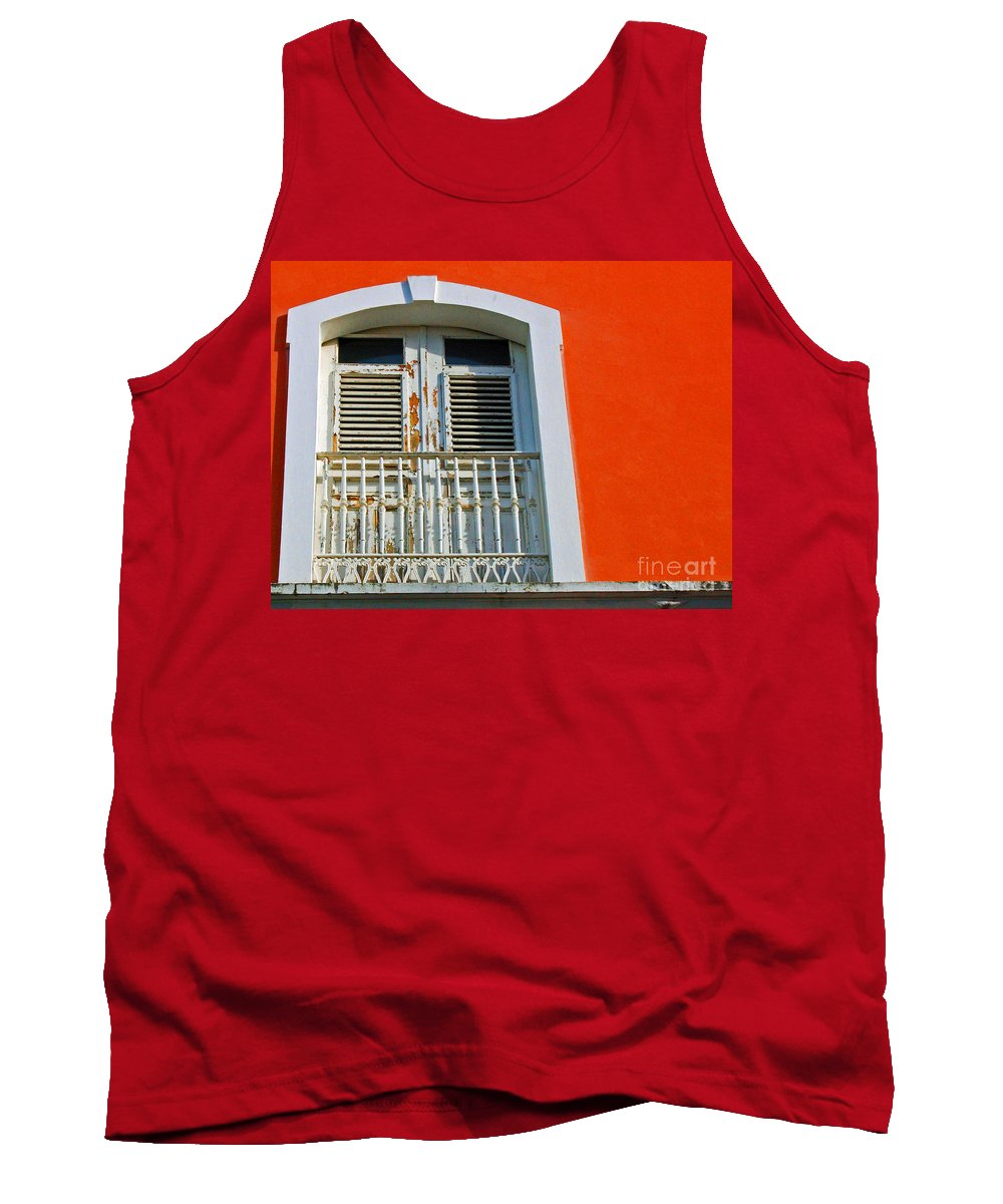 Shutters Tank Top featuring the photograph Peel An Orange by Debbi Granruth