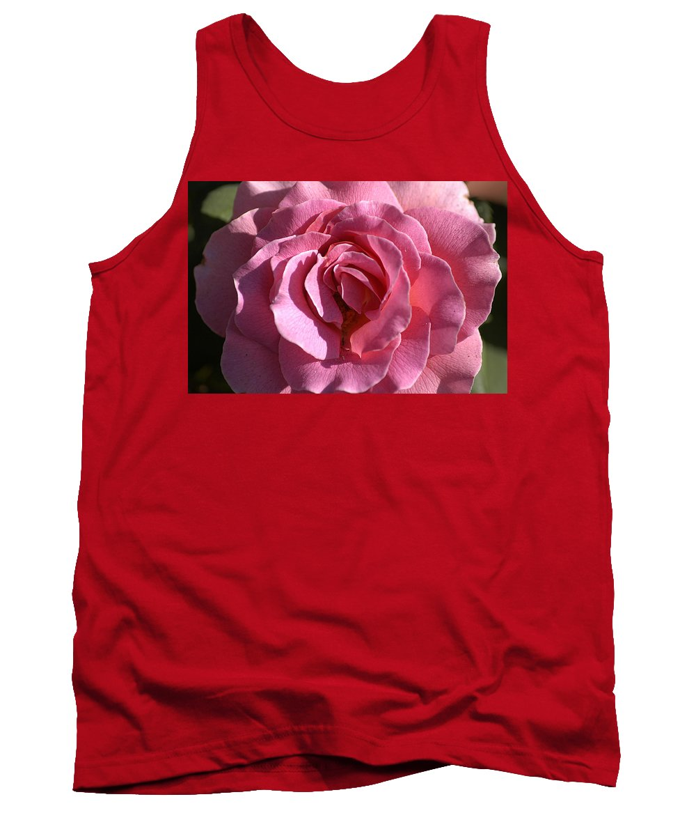 Clay Tank Top featuring the photograph Pink Rose by Clayton Bruster