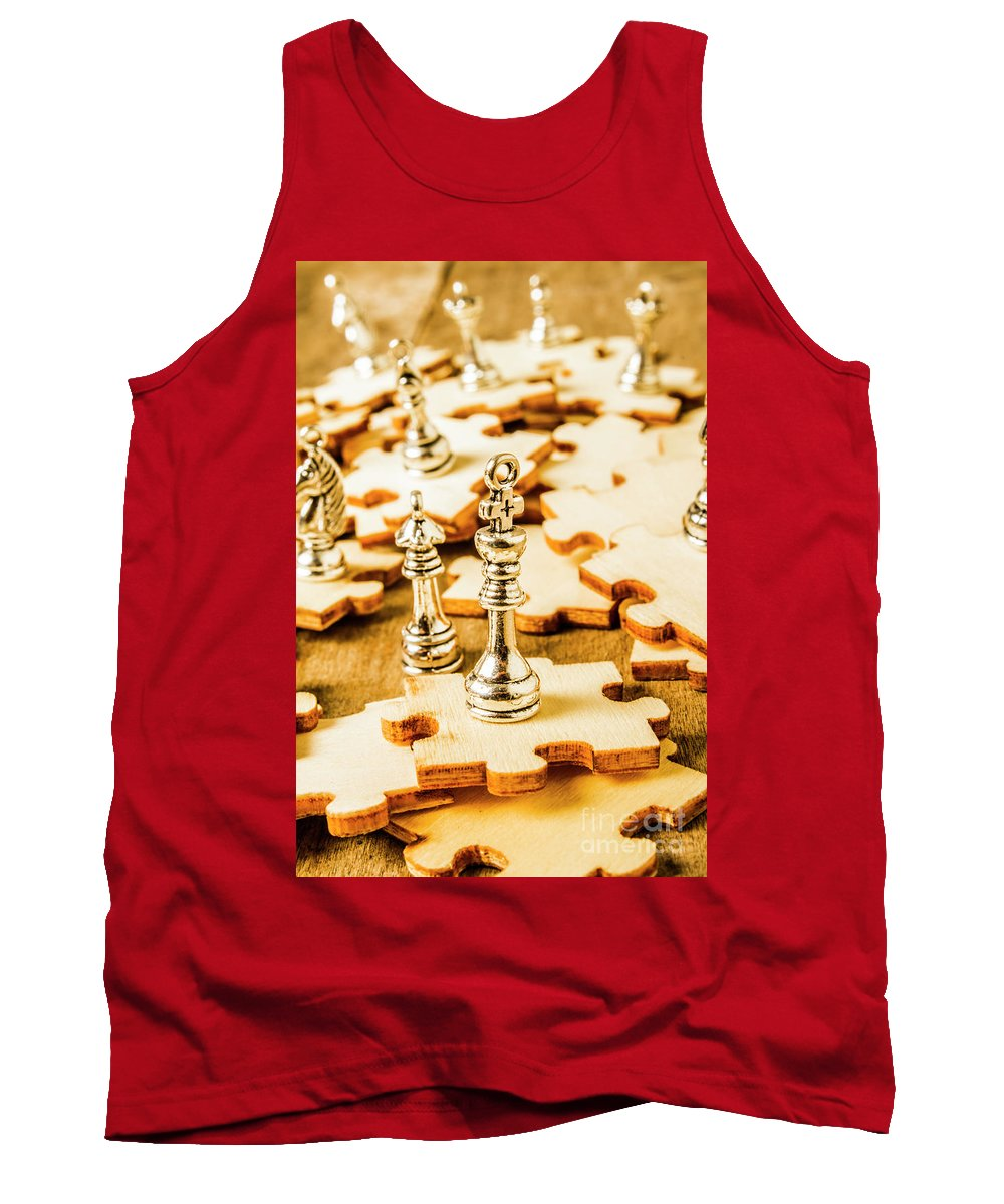 Art Tank Top featuring the photograph Playing To Win by Jorgo Photography - Wall Art Gallery