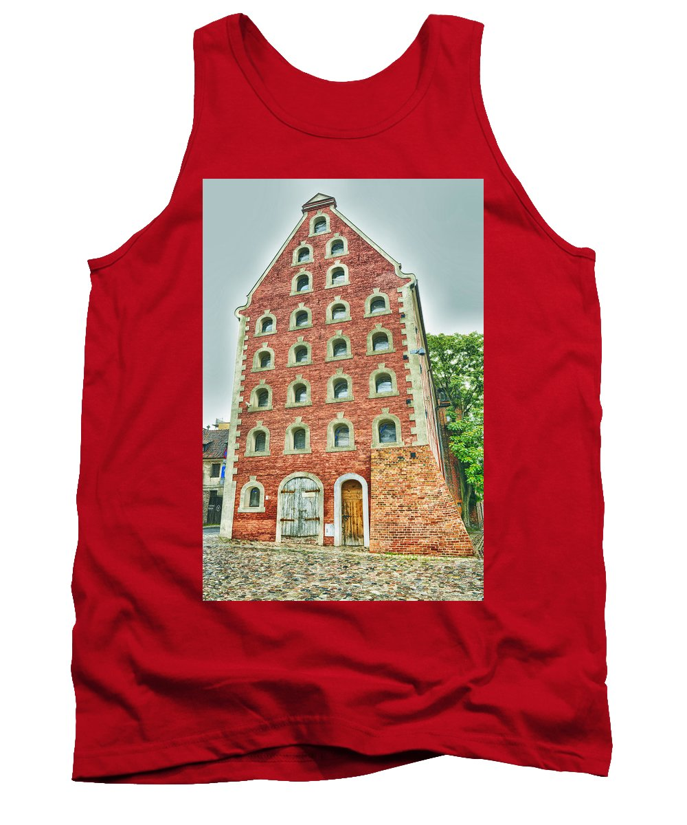 Poland Tank Top featuring the photograph Poland, Torun, Old Warehouse. by Adriano Bussi