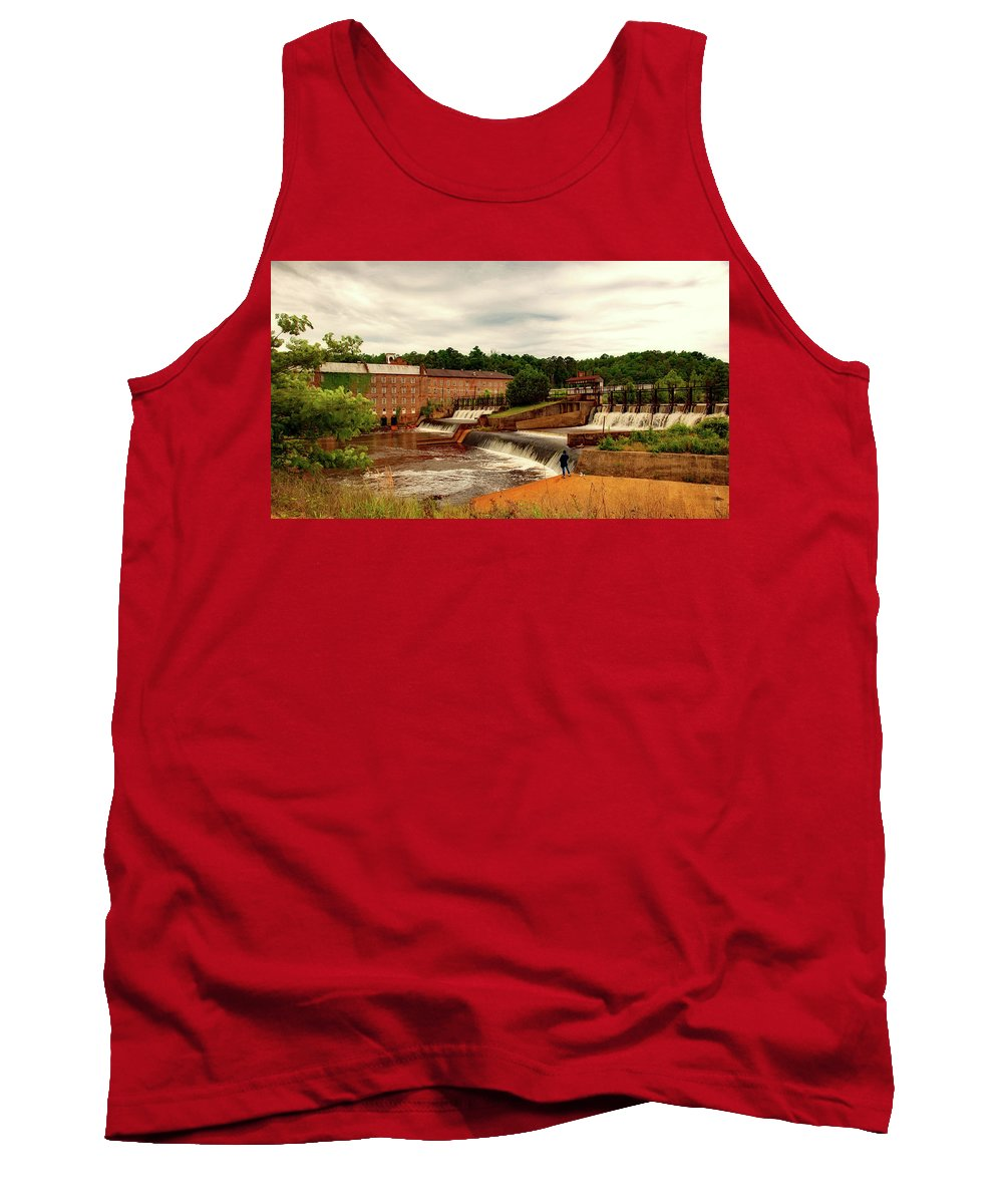 Prattville Tank Top featuring the photograph Prattville Alabama by Mountain Dreams