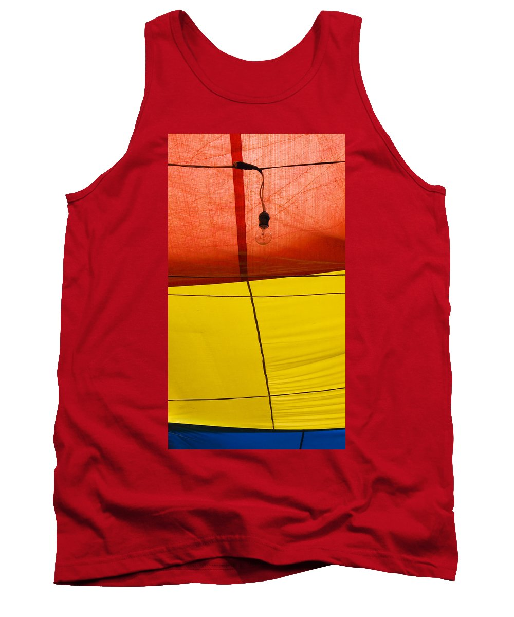 Bulb Tank Top featuring the photograph Primary Light by Skip Hunt