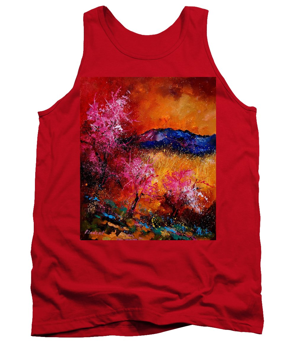 Provence Tank Top featuring the painting Provence560908 by Pol Ledent