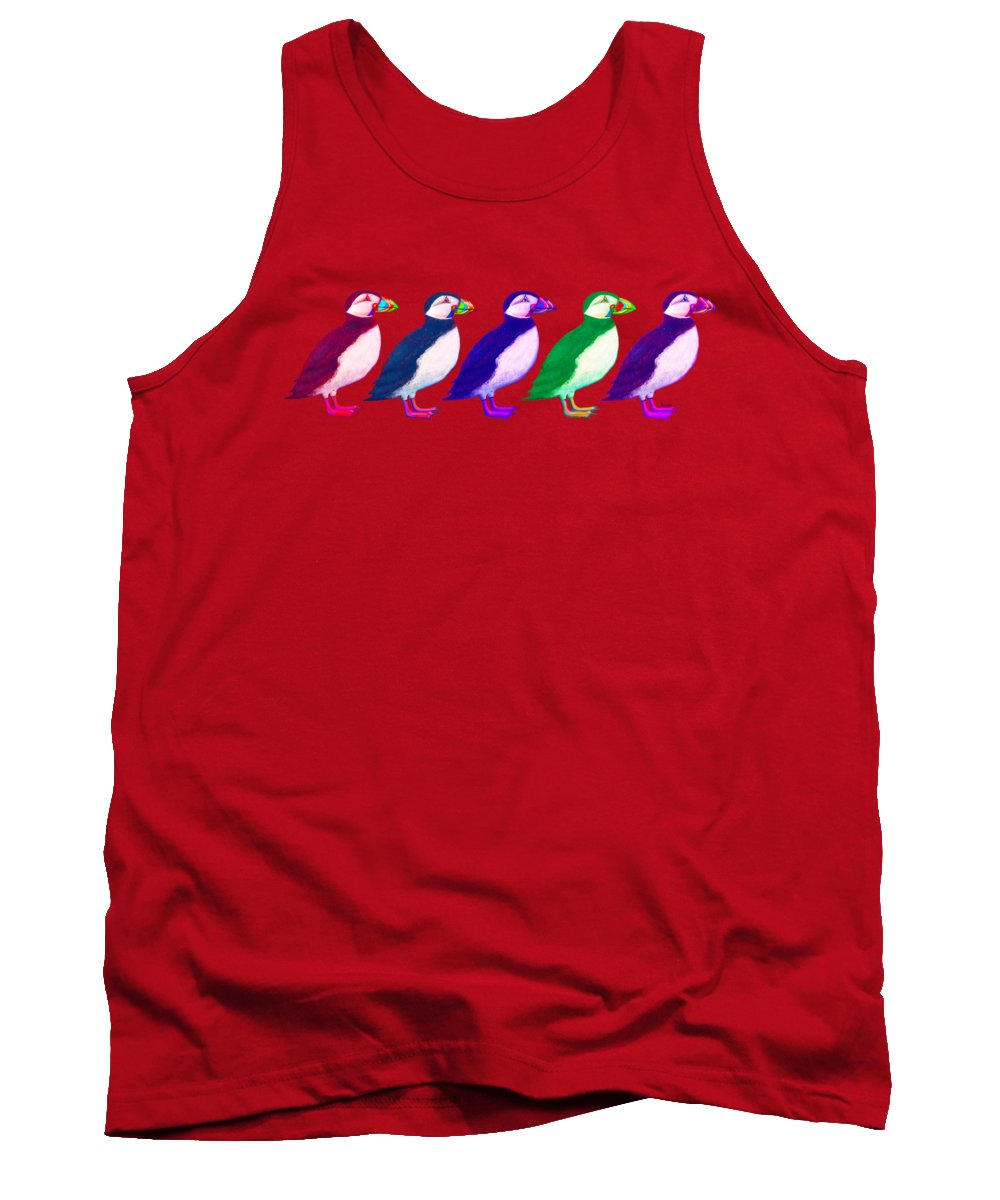 Puffin Tank Tops