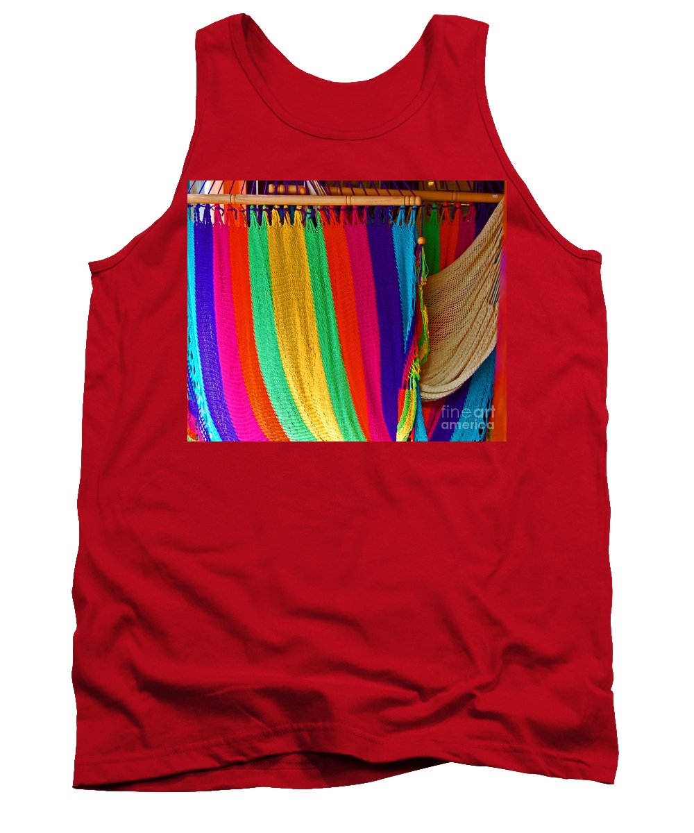 Hammock Tank Top featuring the photograph Rags To Riches by Debbi Granruth