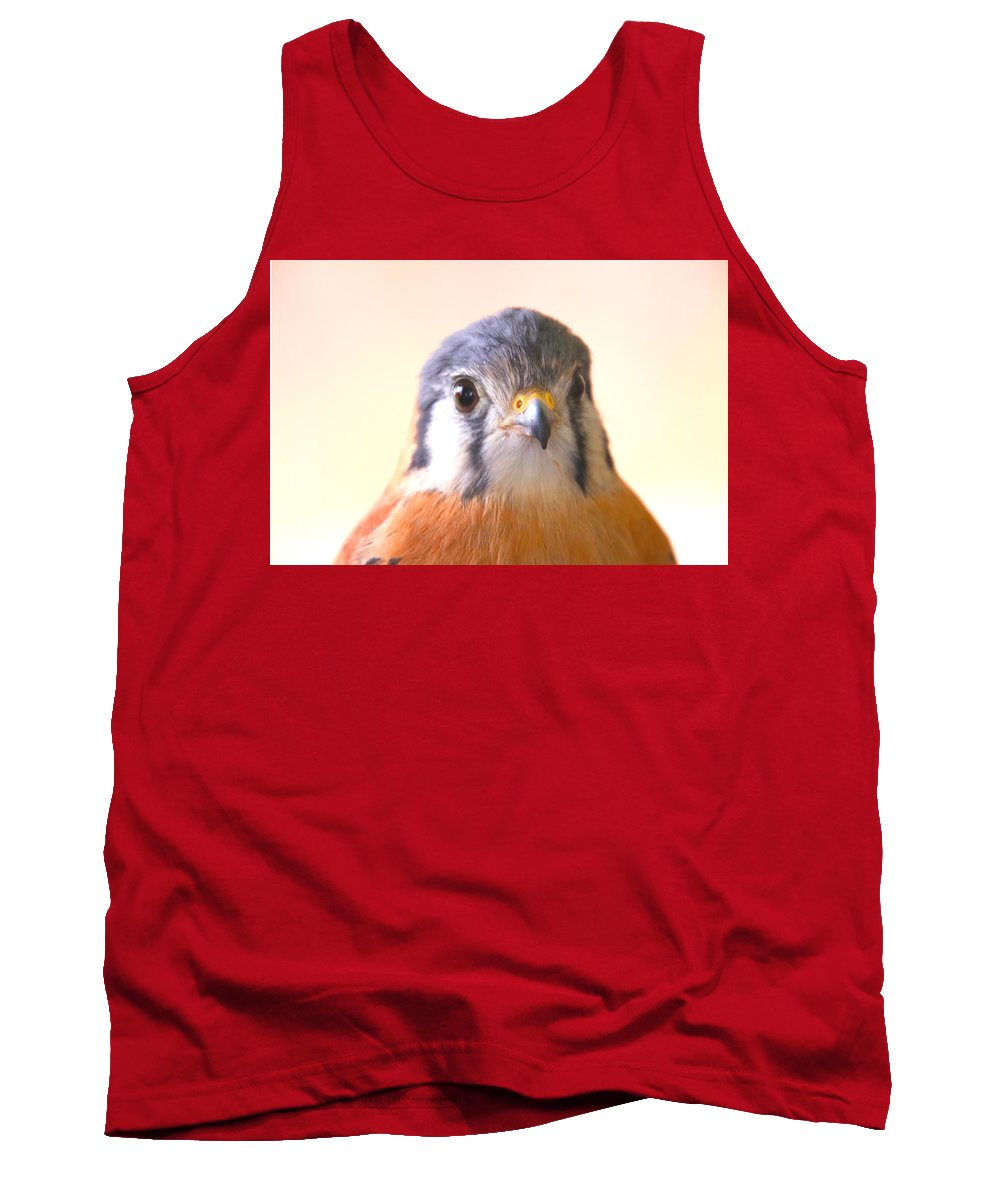 Tank Top featuring the photograph Raptor by Tony Umana