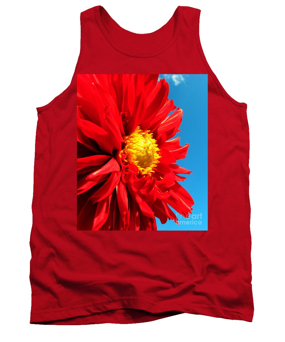 Dhalia Tank Top featuring the photograph Ready For The Future by Amanda Barcon