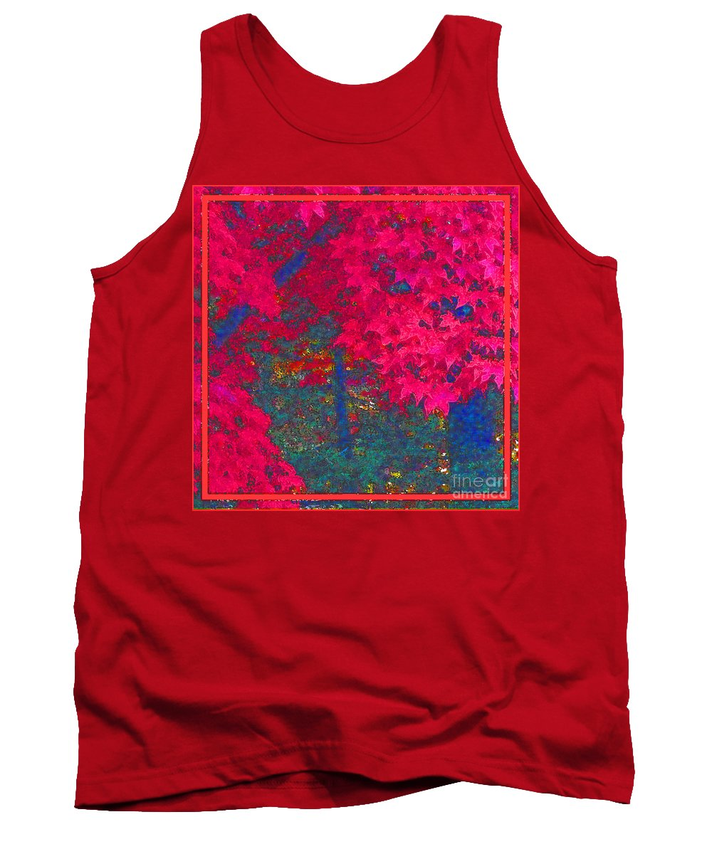 Maple Tree Tank Top featuring the photograph Red Maple 1 by Melissa A Benson