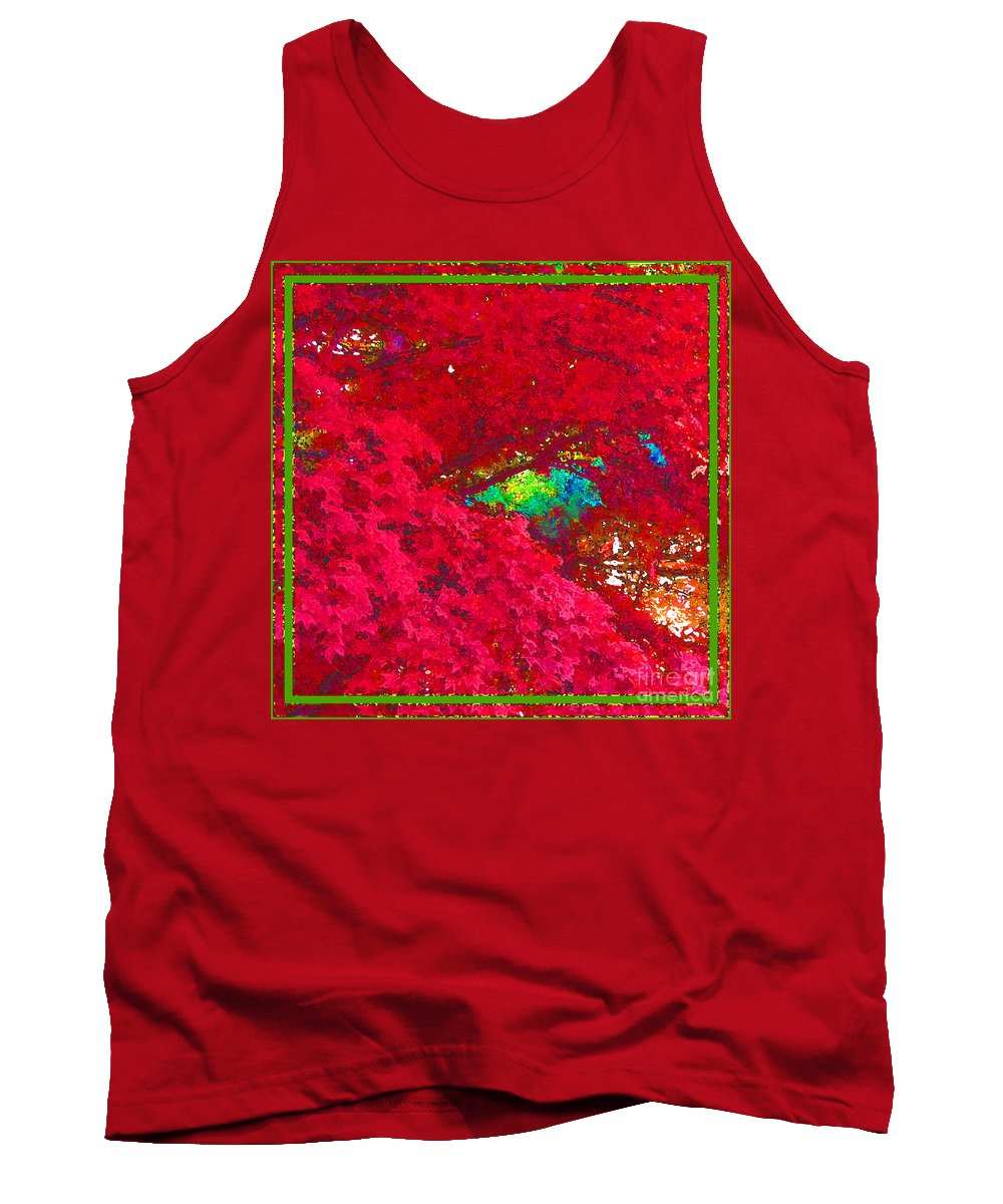 Maple Tree Tank Top featuring the photograph Red Maple 4 by Melissa A Benson