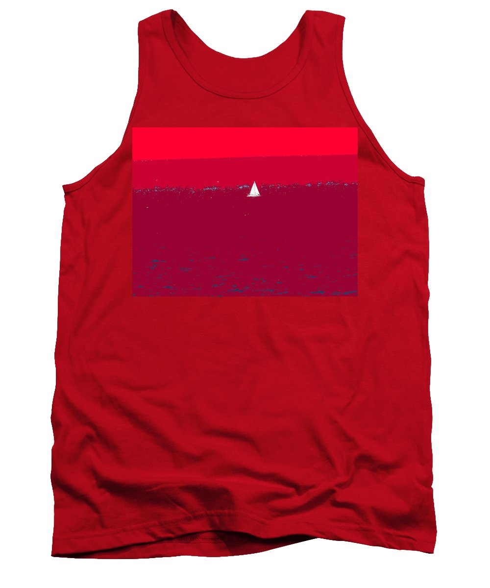 St Kitts Tank Top featuring the photograph Red Sea by Ian MacDonald