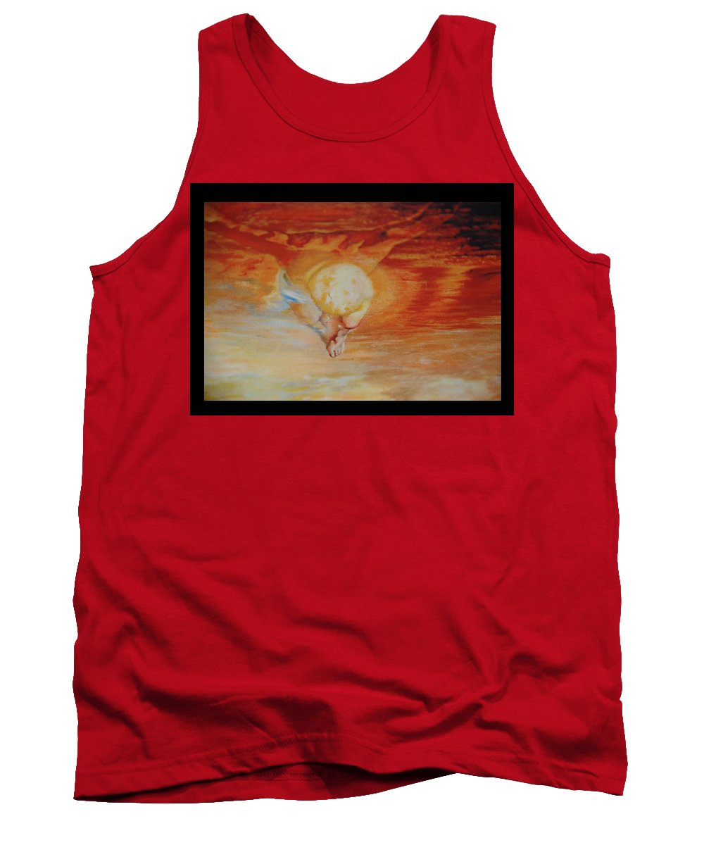 Angels Tank Top featuring the photograph Red Sky by Rob Hans