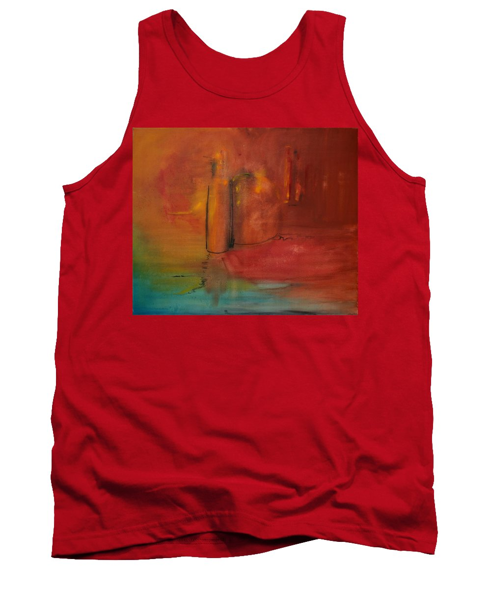 Still Tank Top featuring the painting Reflection Of Still Life by Jack Diamond
