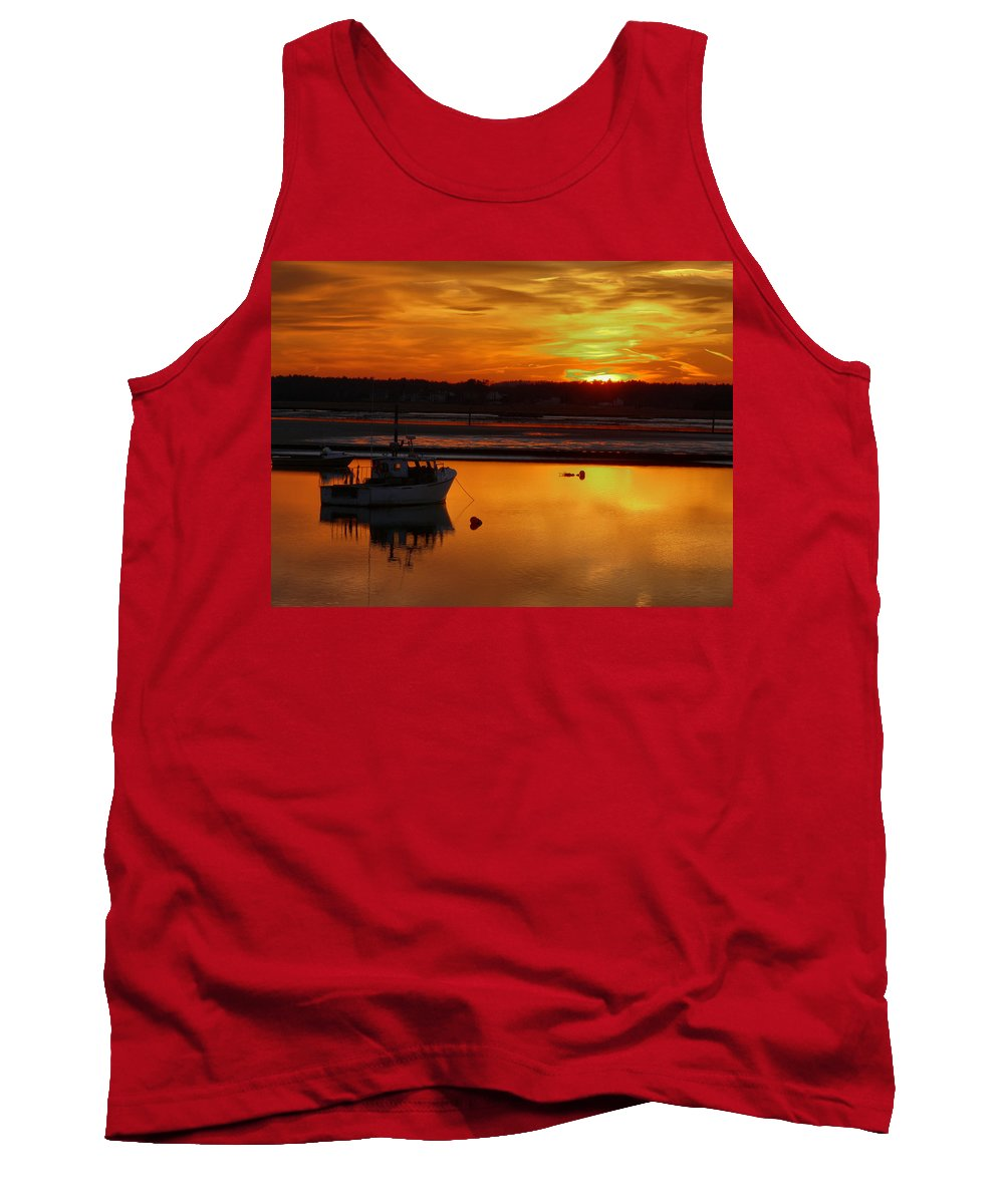 Spring Tank Top featuring the photograph Relaxing by Nancie DeMellia