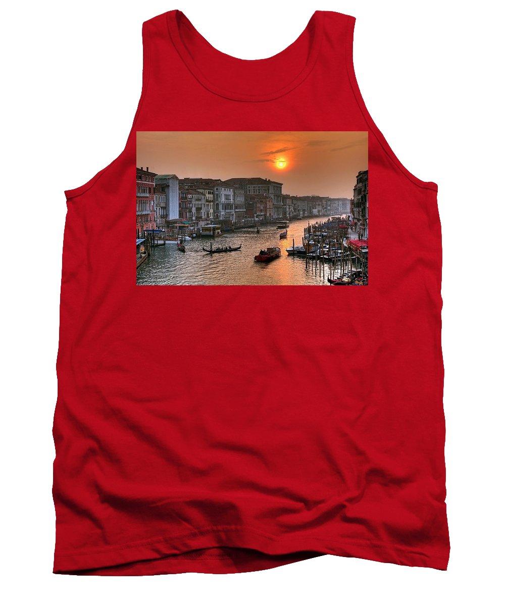 Venice Italy Tank Top featuring the photograph Riva Del Ferro. Venezia by Juan Carlos Ferro Duque