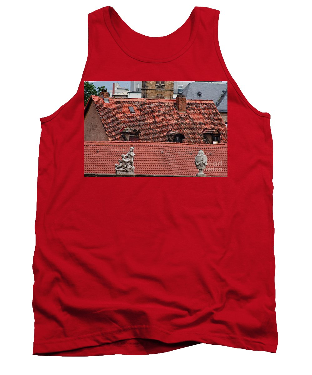 Bamberg Tank Top featuring the photograph Rooftops Of Bamberg II by Thomas Marchessault
