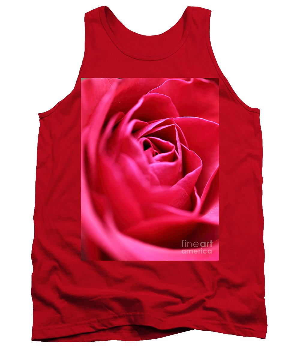 Rose Tank Top featuring the photograph Rose by Amanda Barcon