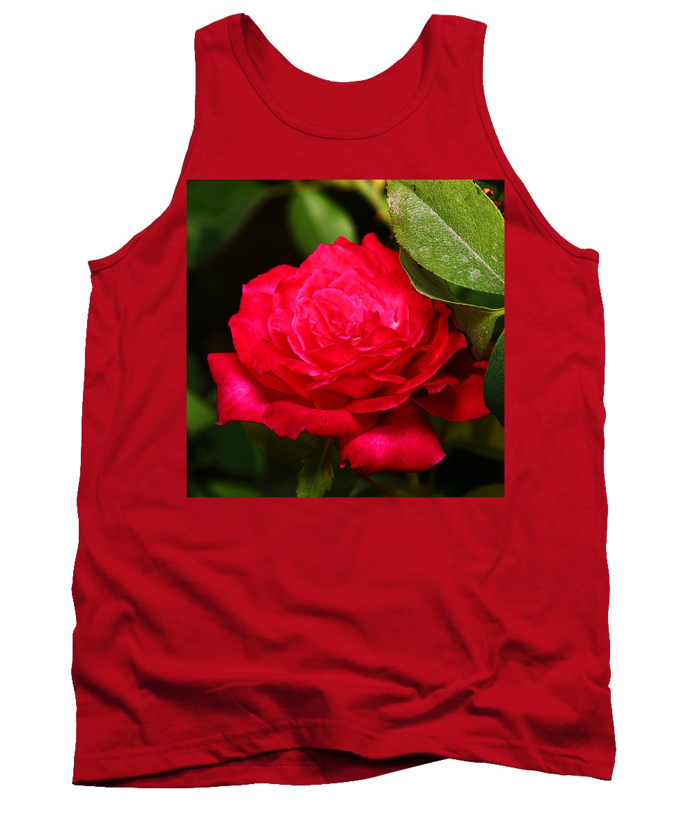 Flower Tank Top featuring the photograph Rose by Anthony Jones