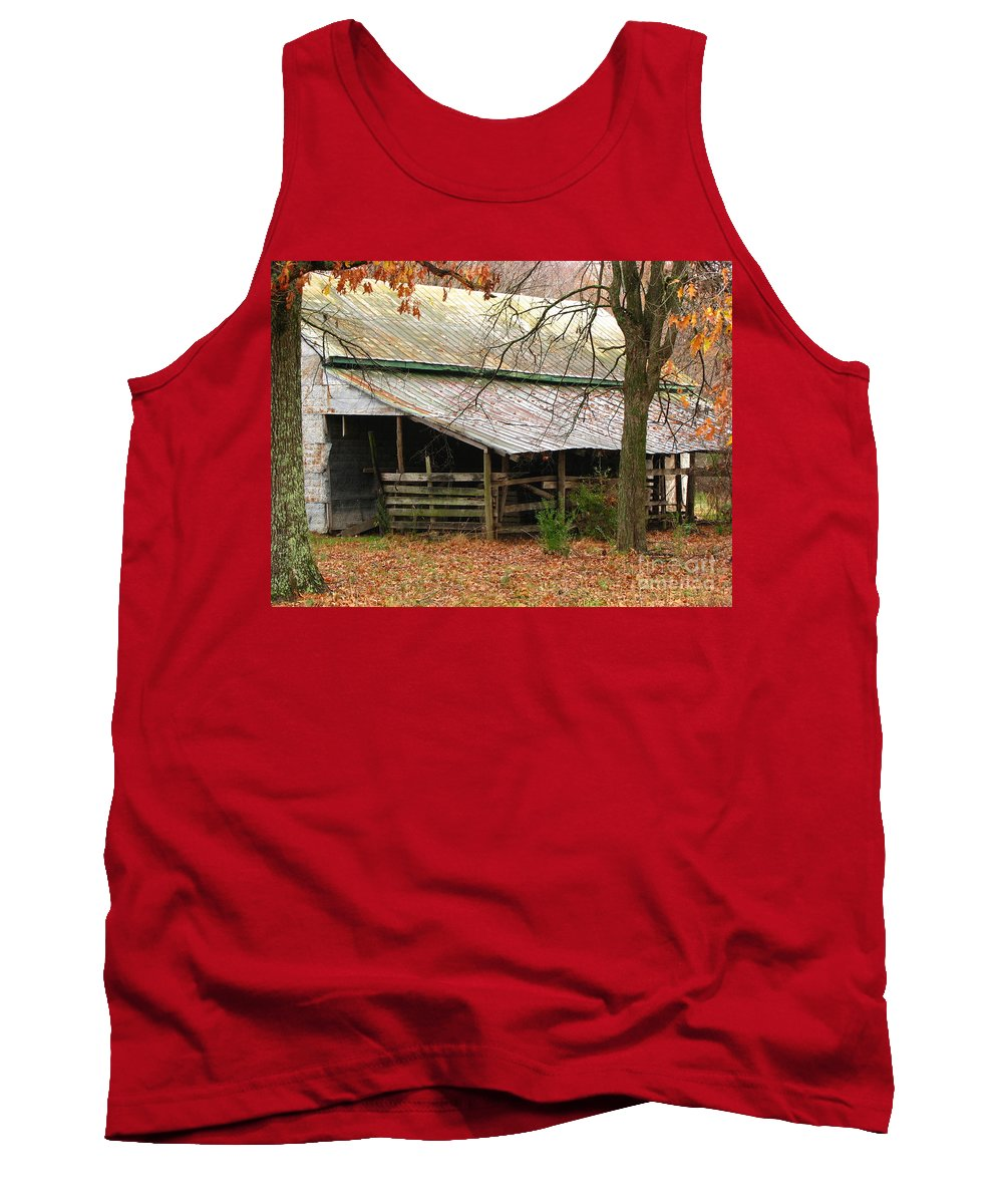 Rural Tank Top featuring the photograph Rural by Amanda Barcon