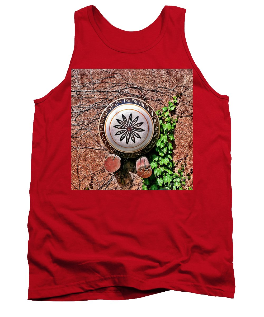 Iphoneography Tank Top featuring the photograph Santa Fe Pottery by Matt Suess