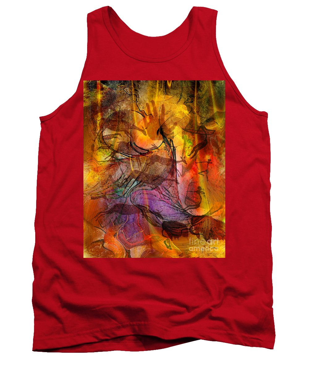 Shadow Hunters Tank Top featuring the digital art Shadow Hunters by John Beck