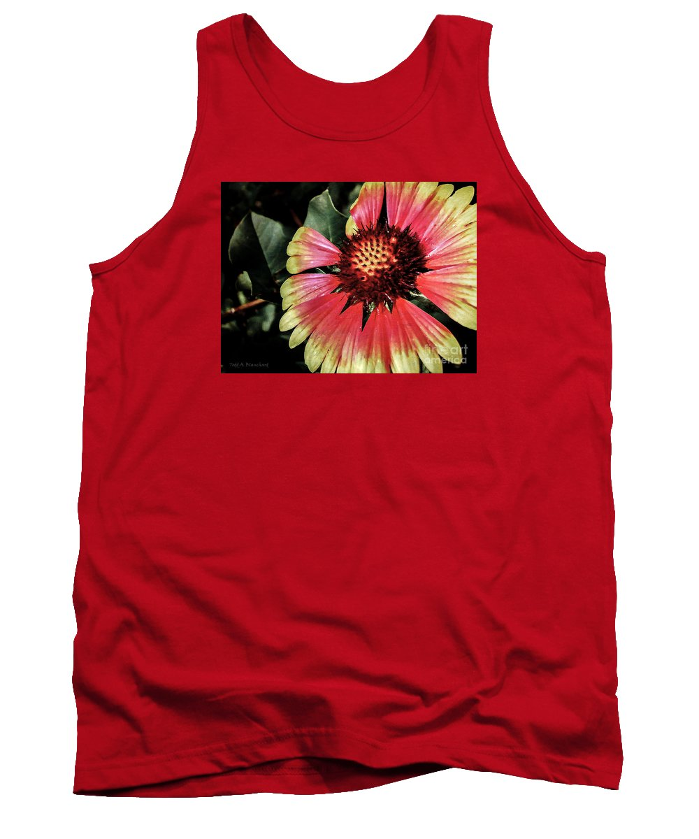 Flora Tank Top featuring the photograph Soaking Up The Sun by Todd A Blanchard