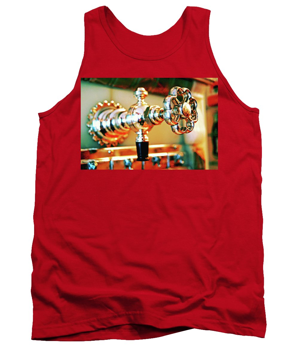 Tank Top featuring the photograph Spigot by Absorb Productions