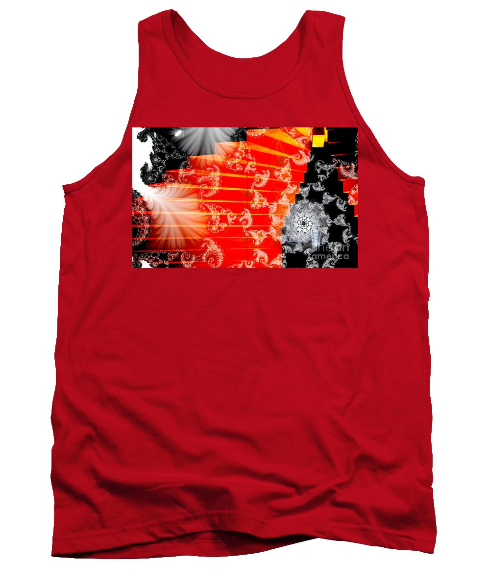 Clay Tank Top featuring the photograph Stairway To Heaven by Clayton Bruster