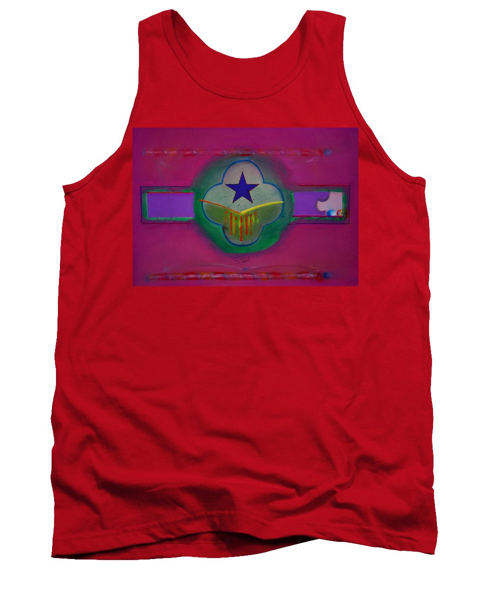 Star Tank Top featuring the painting Star Of Venice by Charles Stuart