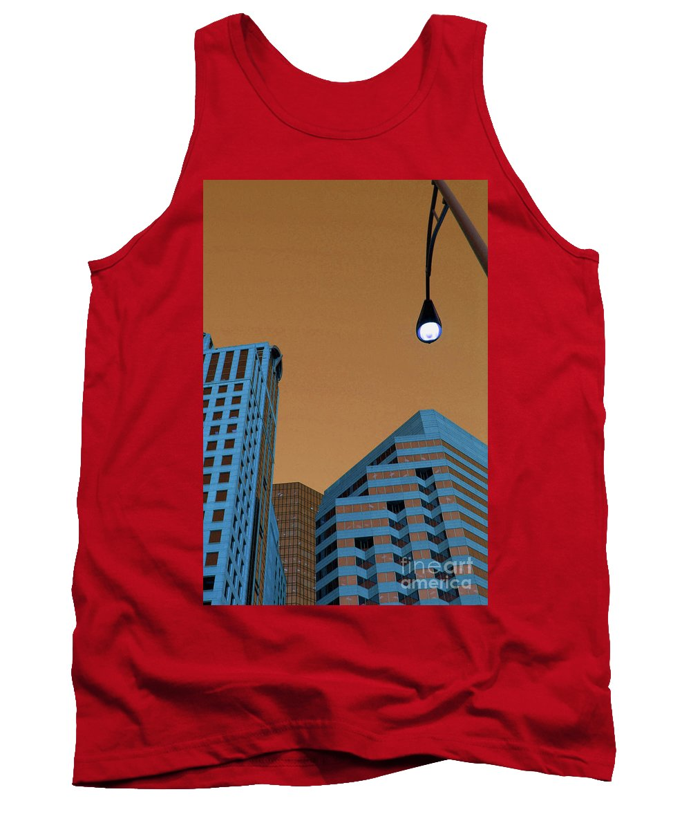 City Tank Top featuring the photograph Street View by Karol Livote