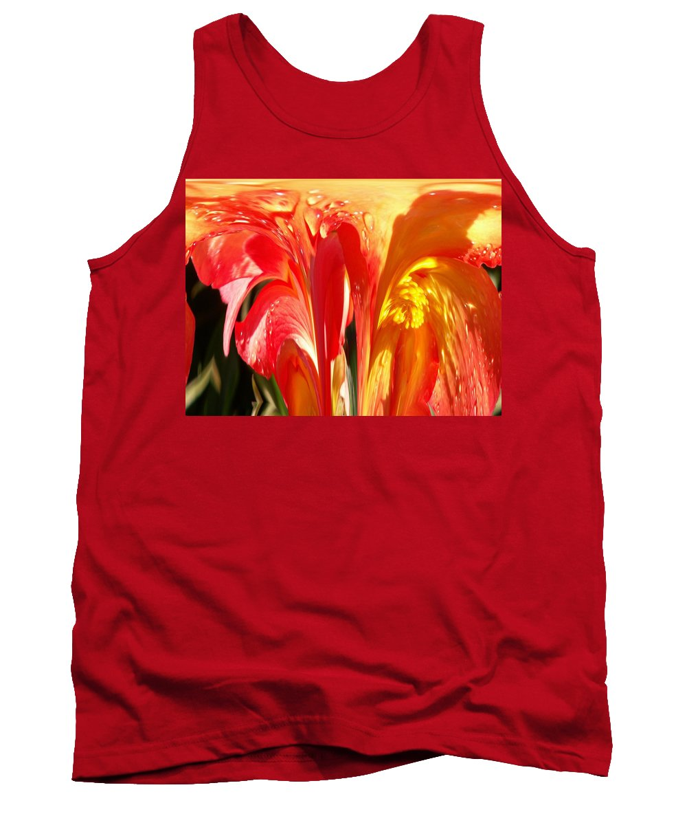 Flowers Tank Top featuring the photograph Succulence by Tim Allen