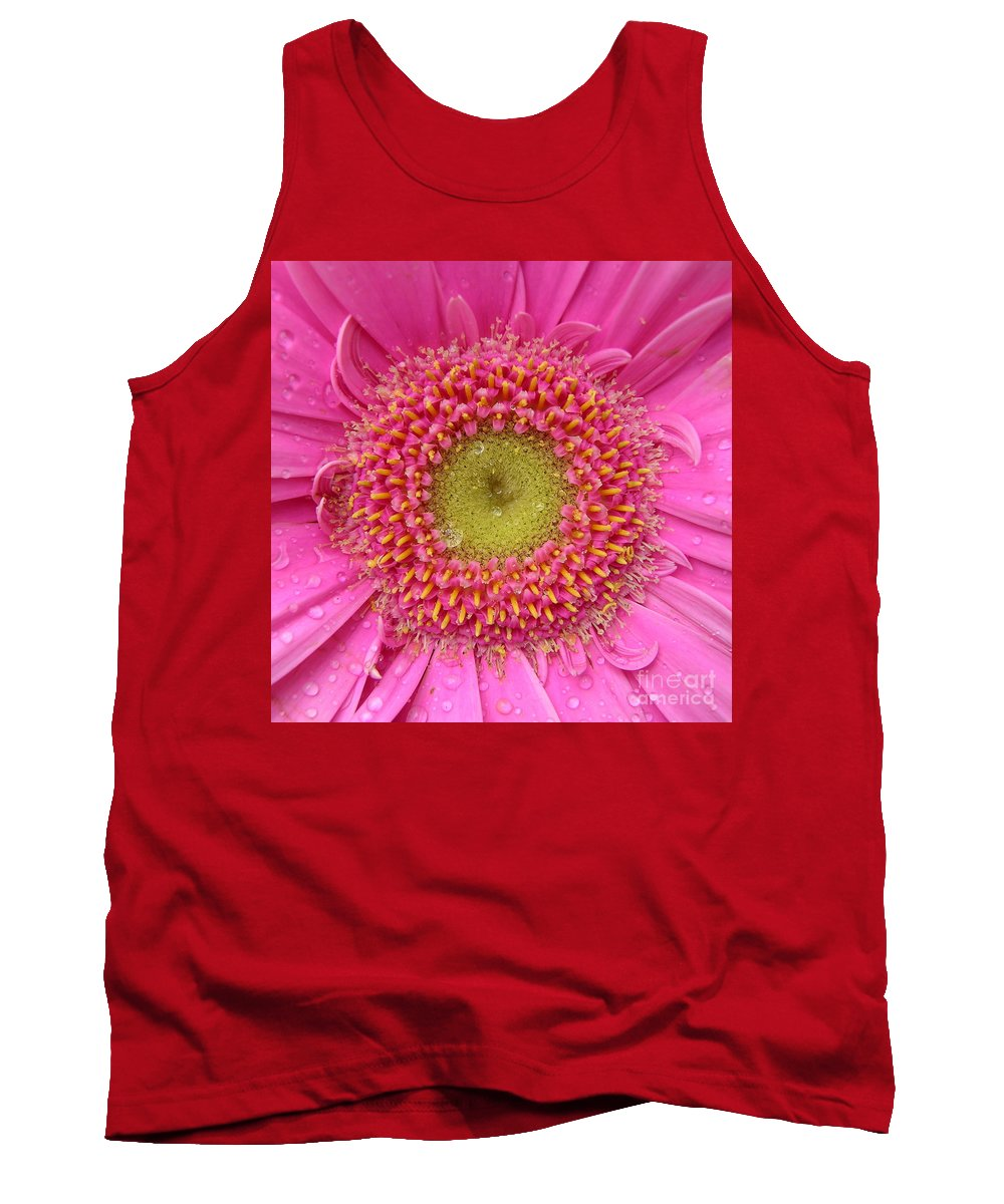 Pink Flower Tank Top featuring the photograph Summer Glory by Carol Groenen