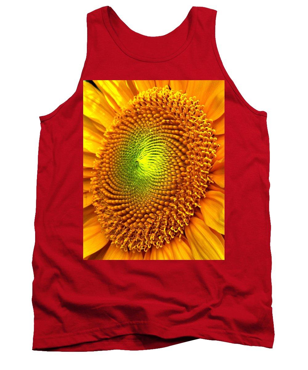Sun Tank Top featuring the photograph Sun Burst by Ian MacDonald