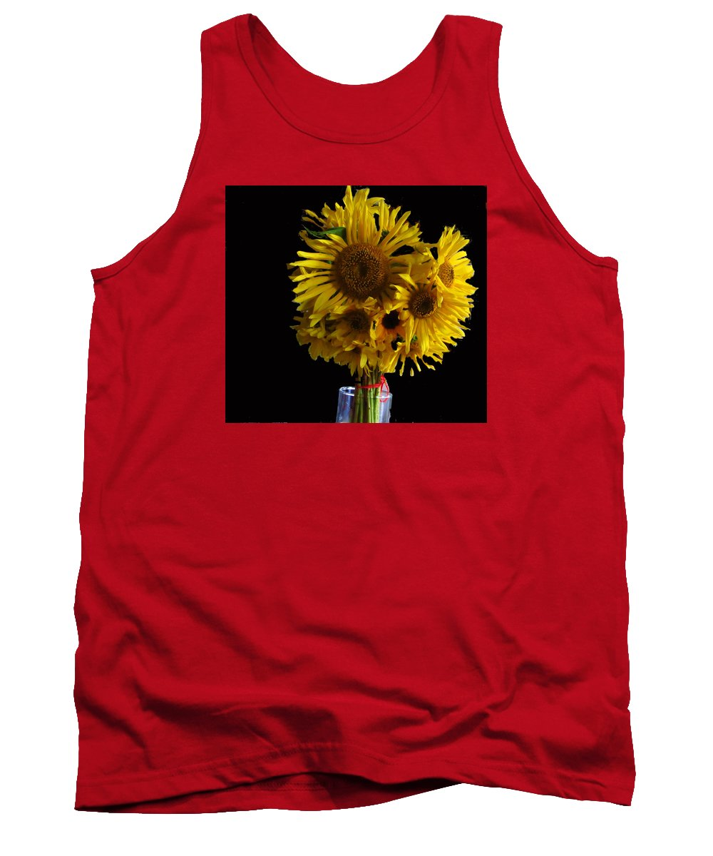 Flower Tank Top featuring the photograph Sun Flower by Robert Nacke