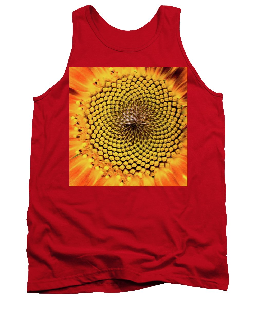 Nature Tank Top featuring the photograph Sunflower by Keith Birmingham