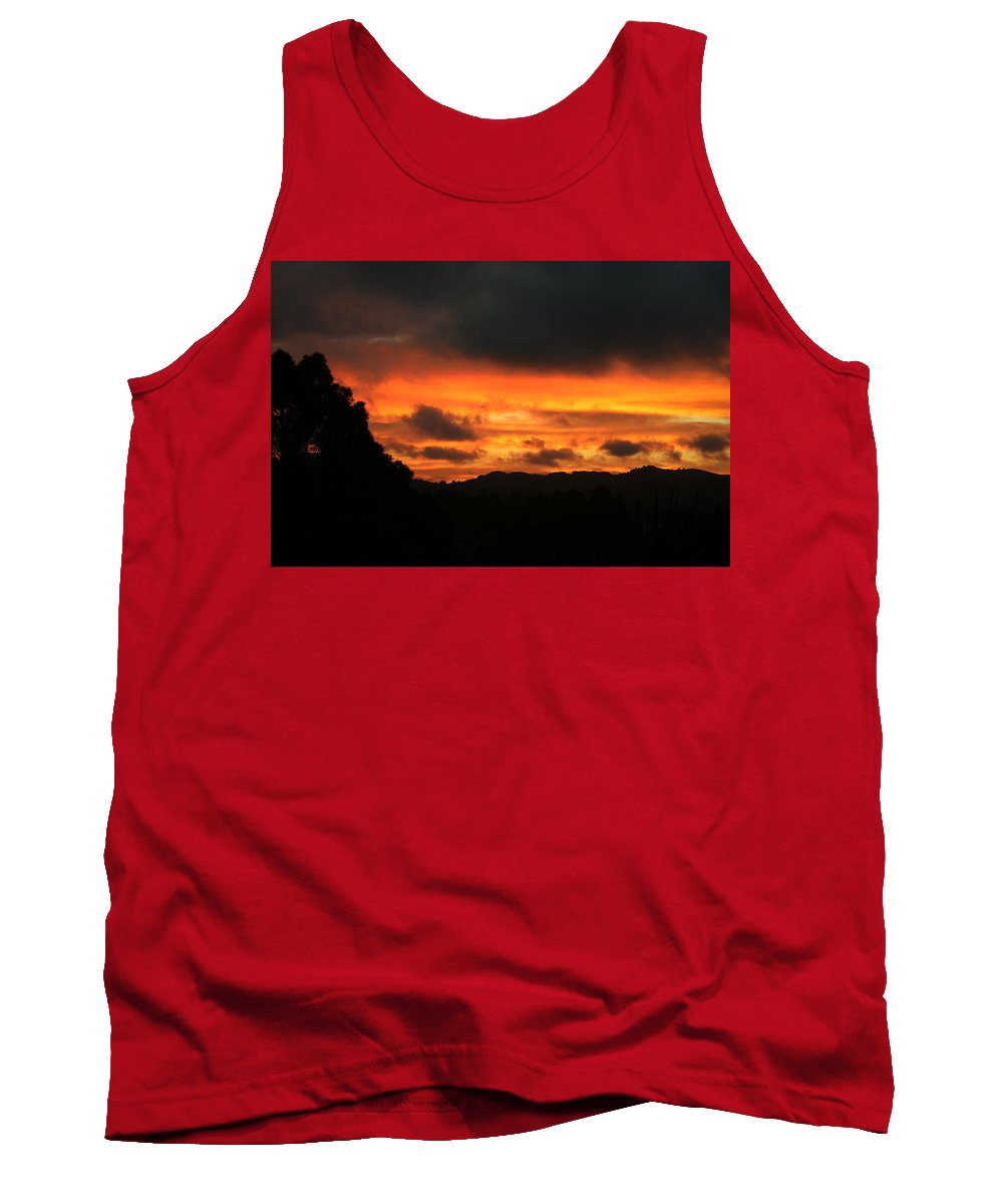Sunrise Tank Top featuring the photograph Sunrise 09 29 17 by Joyce Dickens