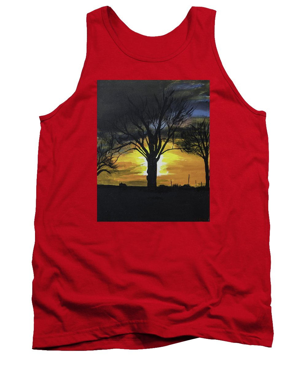 Sunrise Tank Top featuring the photograph Sunrise by Jim McGraw