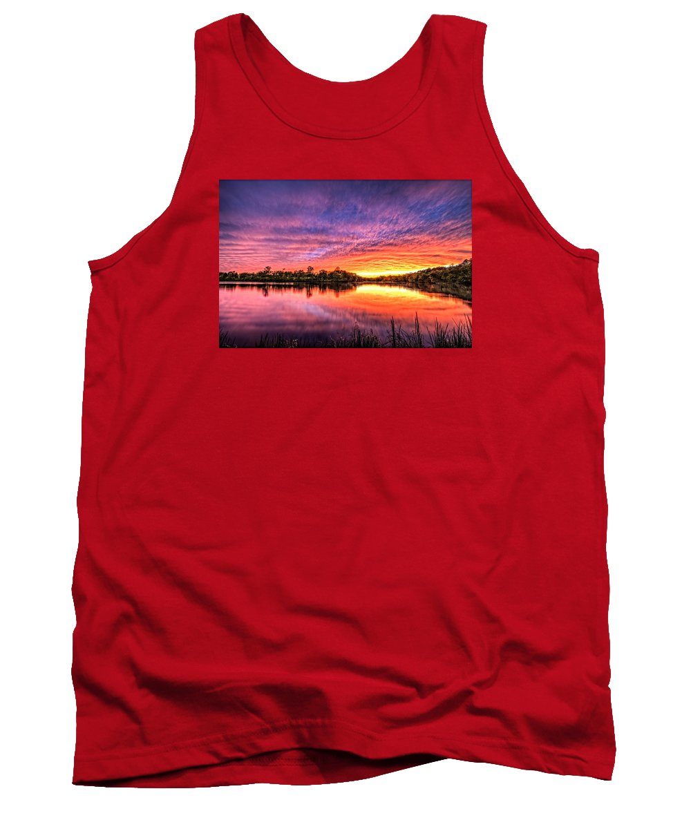 Culpeper Va Tank Top featuring the photograph Sunset Culpeper Va by Alfredo Alegrett