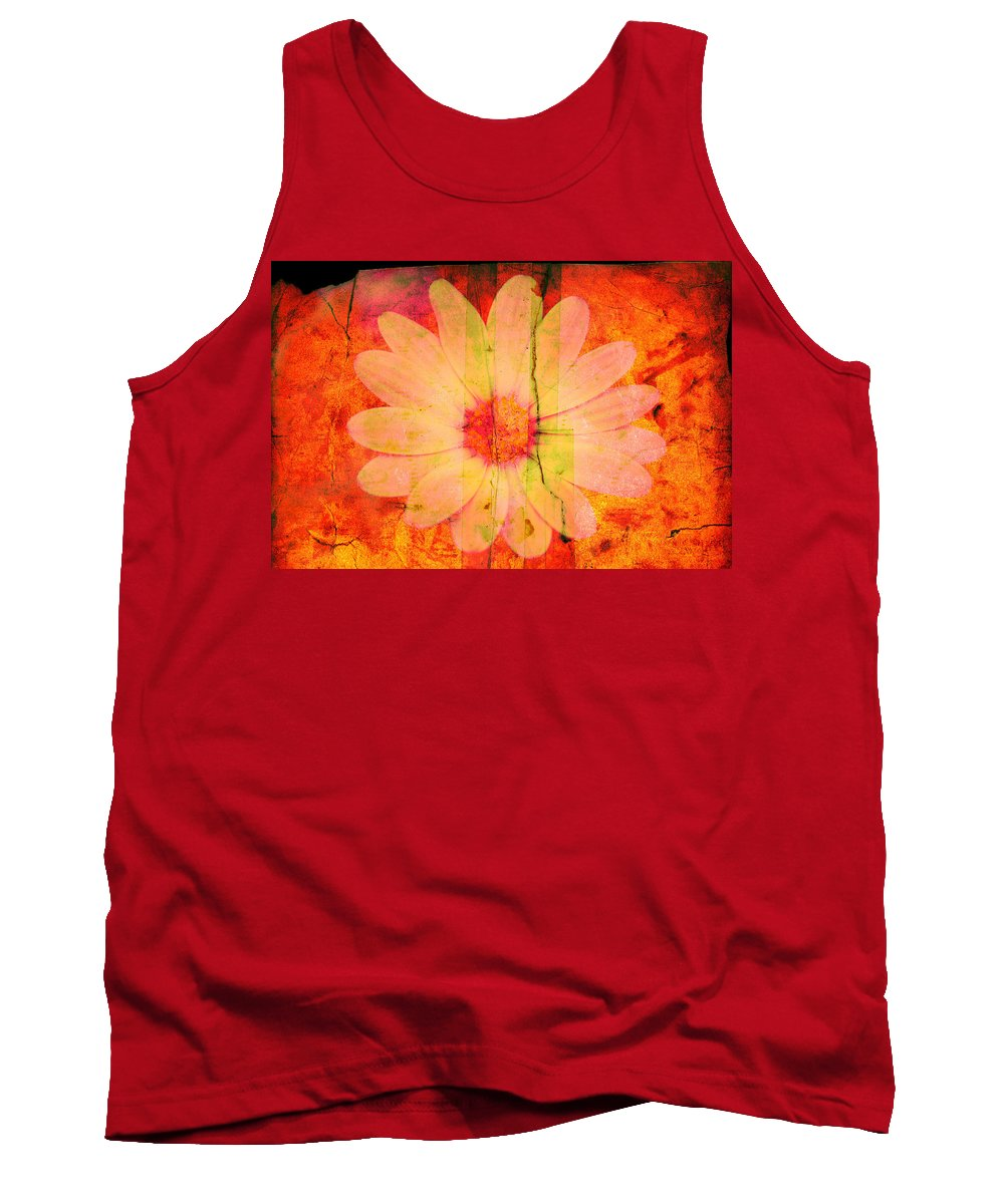 Flower Tank Top featuring the photograph Surprise Me by Susanne Van Hulst