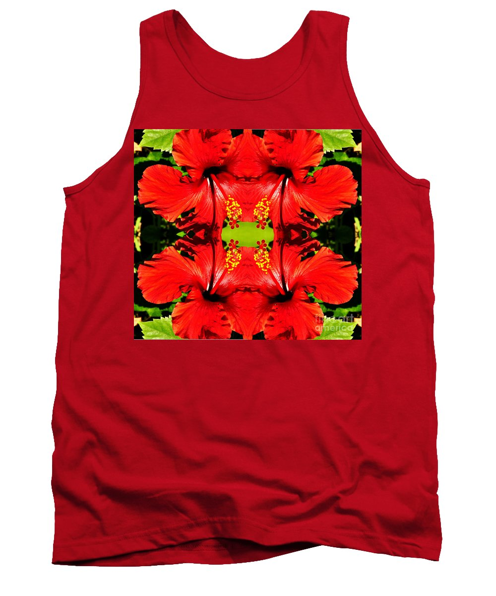 Clay Tank Top featuring the photograph Symmetry by Clayton Bruster