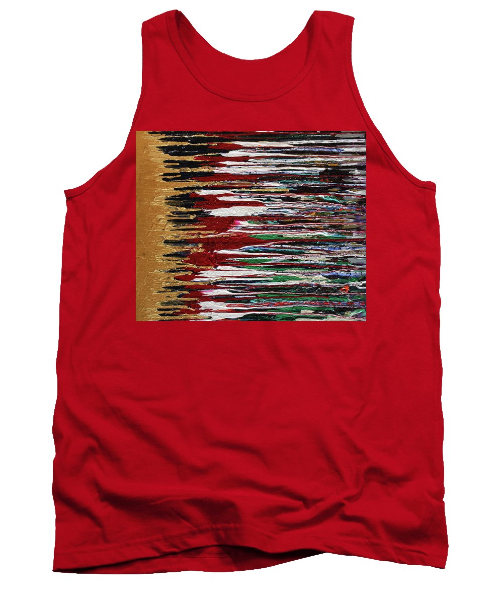 Fusionart Tank Top featuring the painting Tears Of The Sun by Ralph White