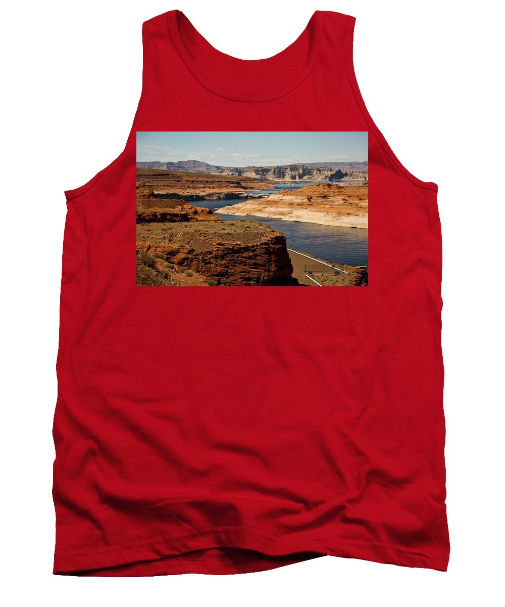 Lake Powell Tank Top featuring the photograph The Beauty Of Powell by Hany J