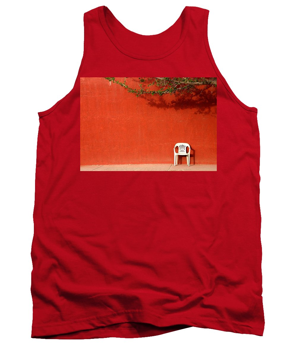 Chair Tank Top featuring the photograph The Chair by Joe Kozlowski