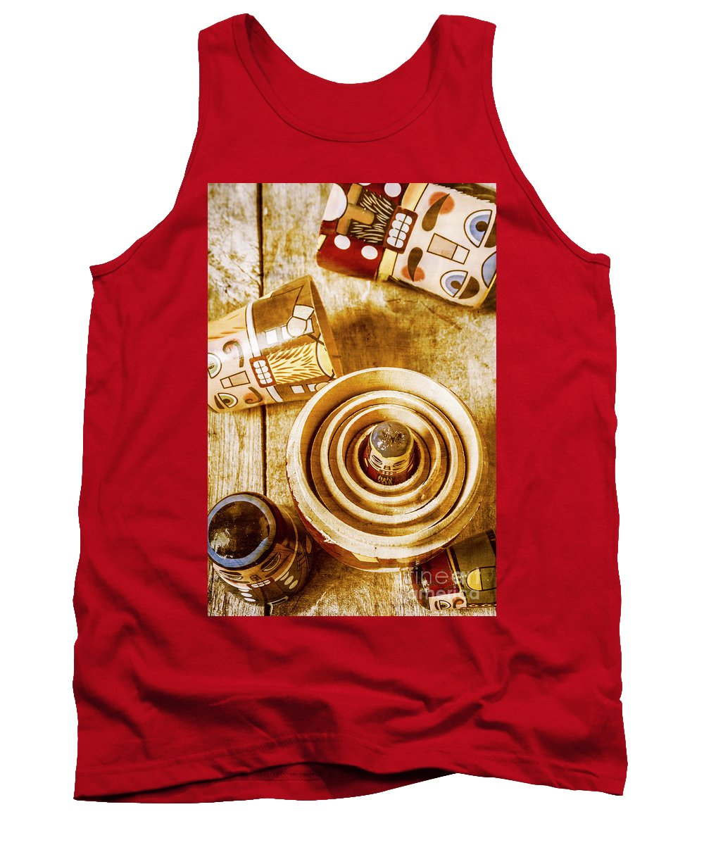 Wooden Tank Top featuring the photograph The Hidden Hand At Play by Jorgo Photography - Wall Art Gallery